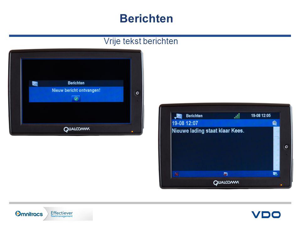Berichten Vrije tekst berichten