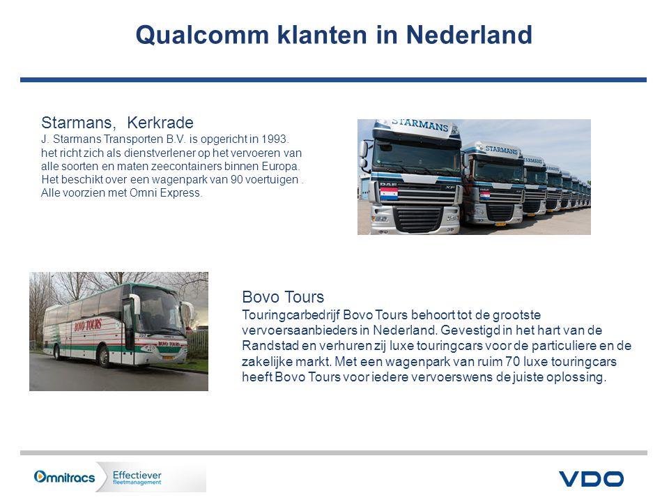 Qualcomm klanten in Nederland Starmans, Kerkrade J.