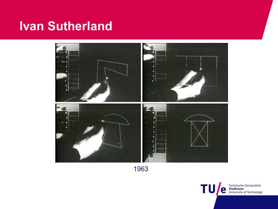 6 Ivan Sutherland 1963
