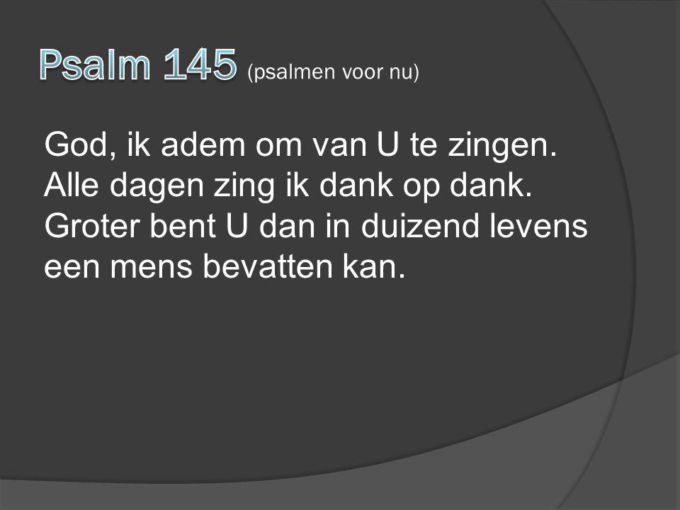 Vader maak mij tot een zegen Ga mij niet voorbij Regen op mij met uw Geest Heer Jezus kom tot mij Als de Bron van leven Die ontspringt diep in mij Breng een stroom van zegen Waarin U zelf steeds mooier wordt voor mij
