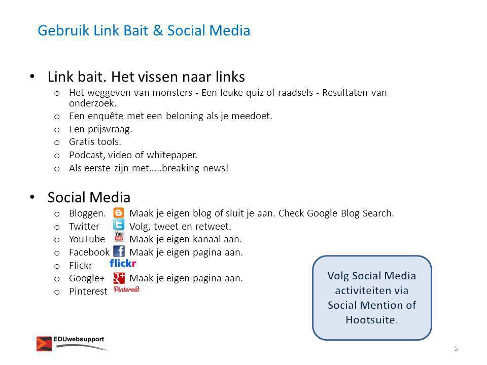 Link Building & Trust Rank • Vertrouwen op basis van kwaliteit van sites.