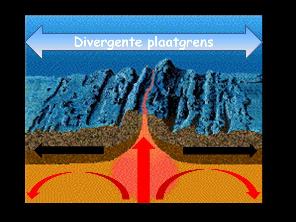 Divergente plaatgrens
