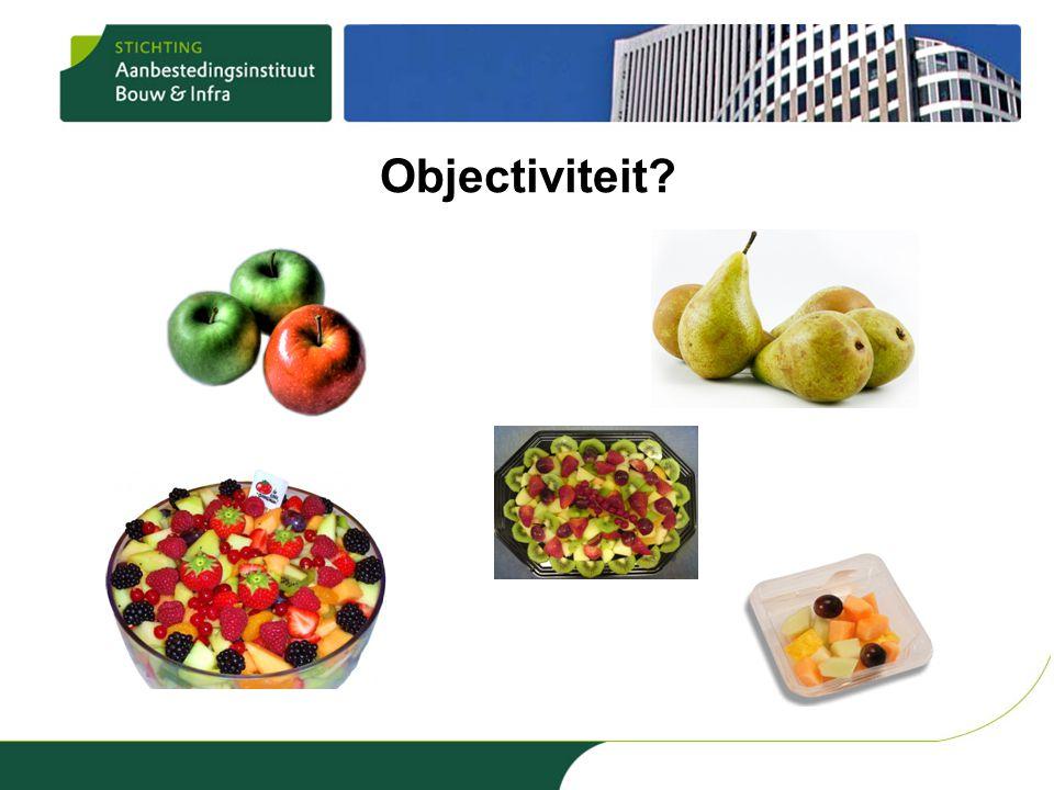 Objectiviteit?