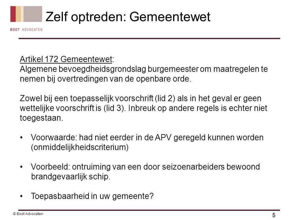 Artikel 172 Gemeentewet: Algemene bevoegdheidsgrondslag burgemeester om maatregelen te nemen bij overtredingen van de openbare orde.
