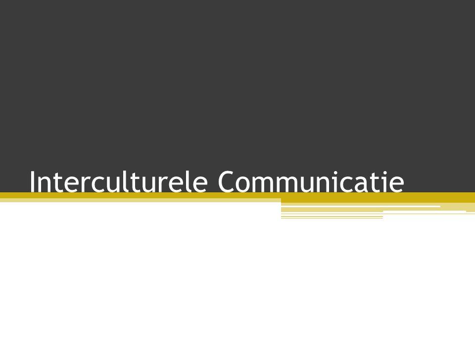 Inhoud • Wat is interculturele communicatie.• Hoe is interculturele communicatie ontstaan.
