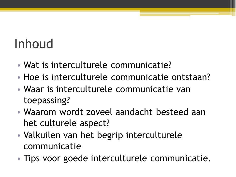 Wat is interculturele communicatie.