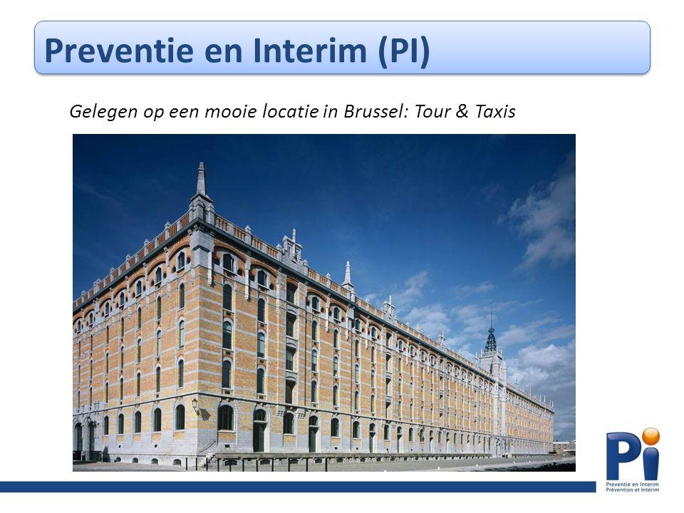Preventie en Interim (PI) Gelegen op een mooie locatie in Brussel: Tour & Taxis