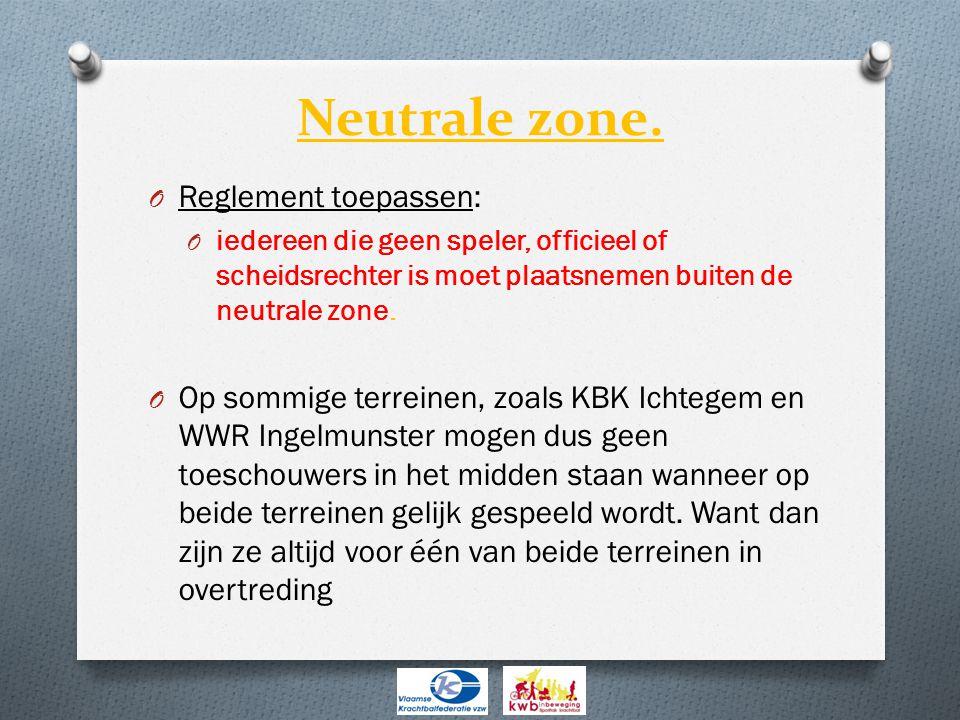 Neutrale zone.