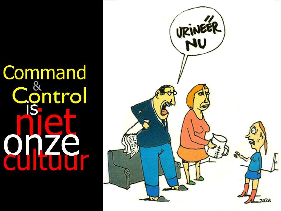 103 Control is is niet niet onze cultuur Command &