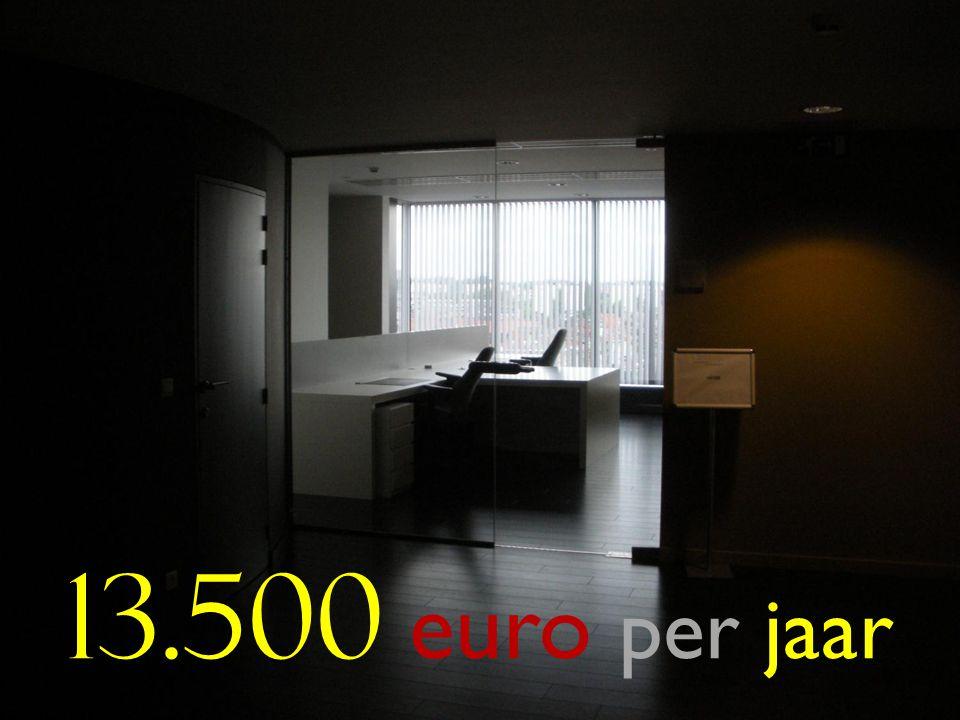 50 13.500 euro per jaar