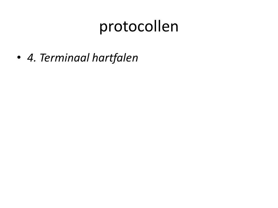 protocollen • 4. Terminaal hartfalen