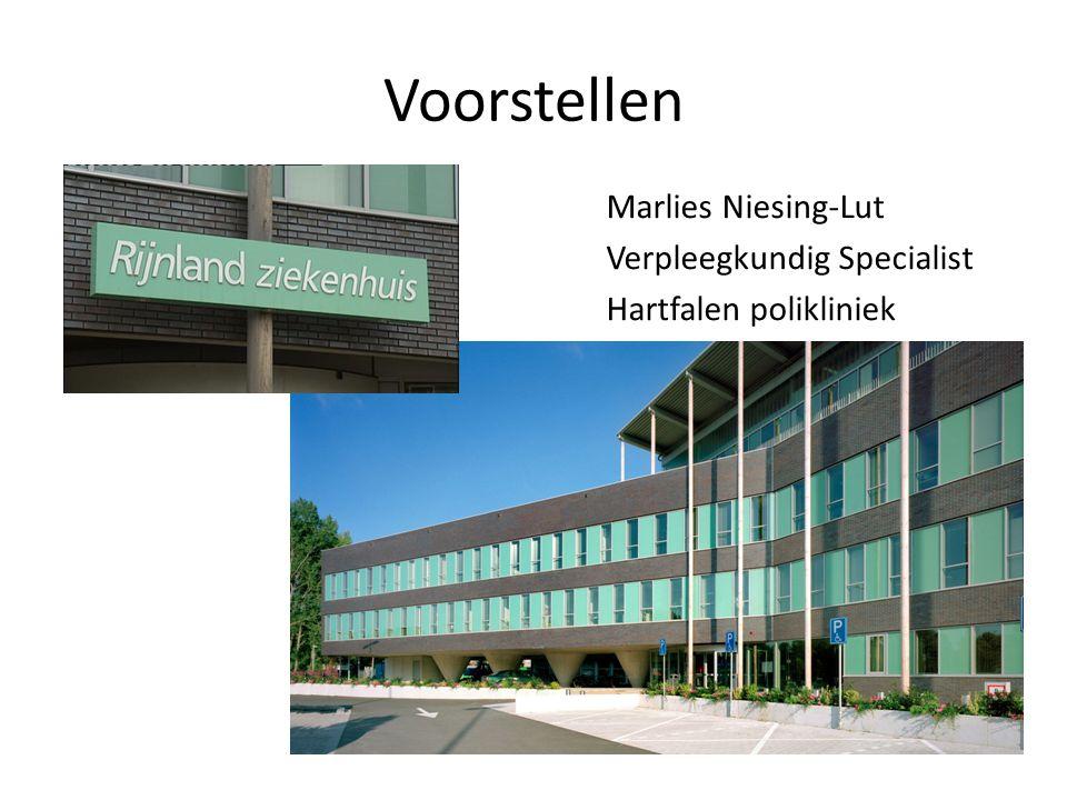 Voorstellen Marlies Niesing-Lut Verpleegkundig Specialist Hartfalen polikliniek
