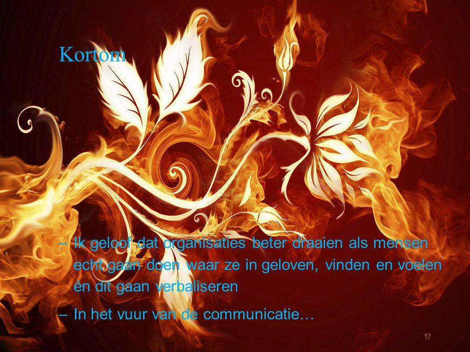 © Twynstra Gudde 22-11-2012 Containment Kortom –Ik geloof dat organisaties beter draaien als mensen echt gaan doen waar ze in geloven, vinden en voele