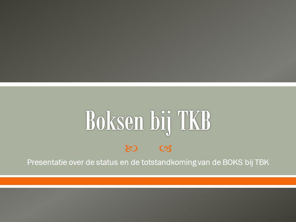  Landelijkoverleg TBK gestart in 2008  Frequentie ca.