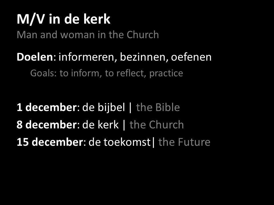 Wat is, in het licht van de bijbel, met het oog op de eenheid van de kerk èn de naderende terugkomst van de HEER, een goede beslissing.