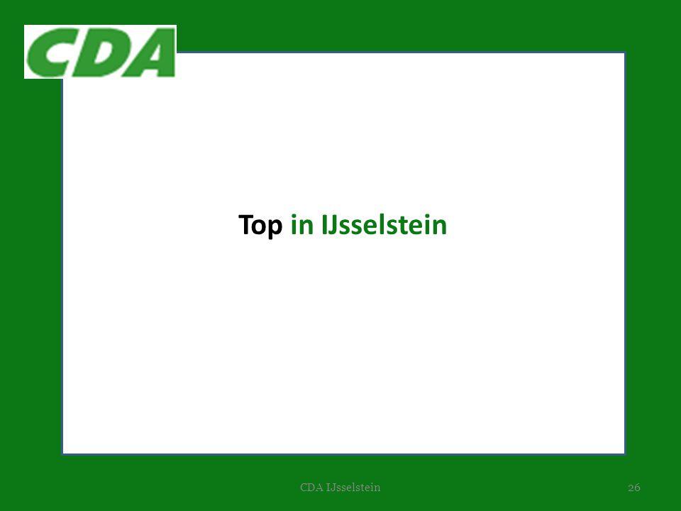26CDA IJsselstein Top in IJsselstein