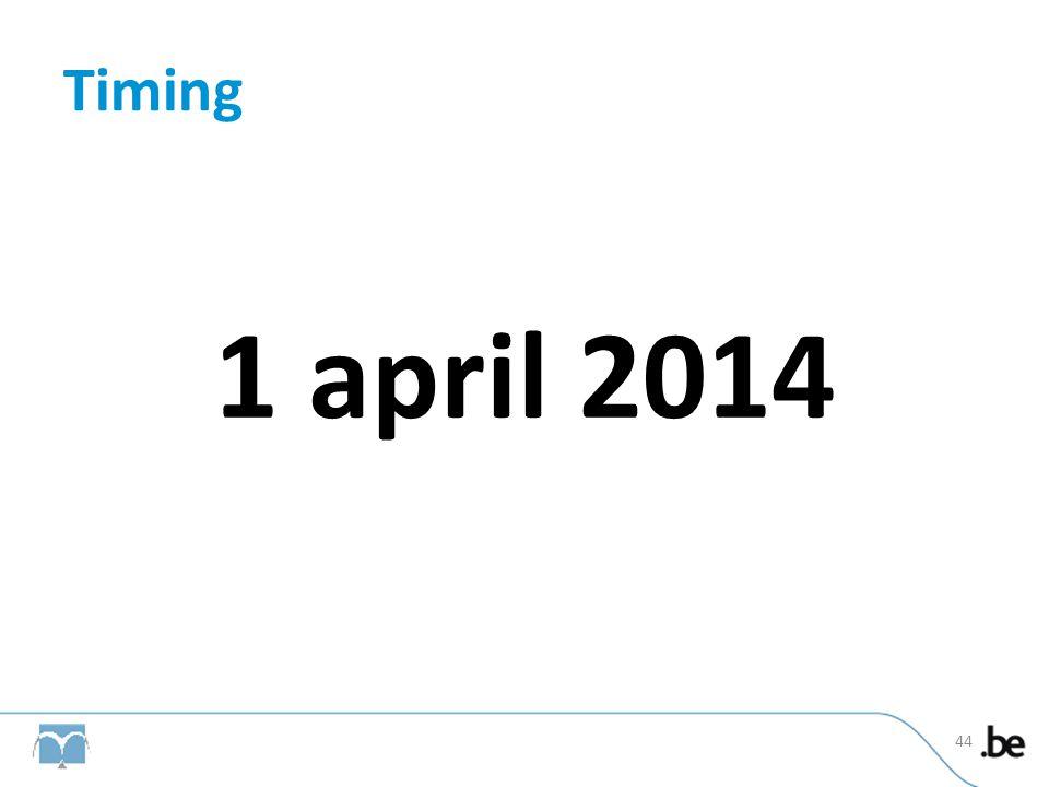 Timing 1 april 2014 44