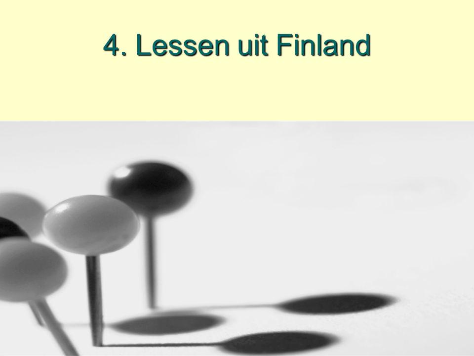 4. Lessen uit Finland