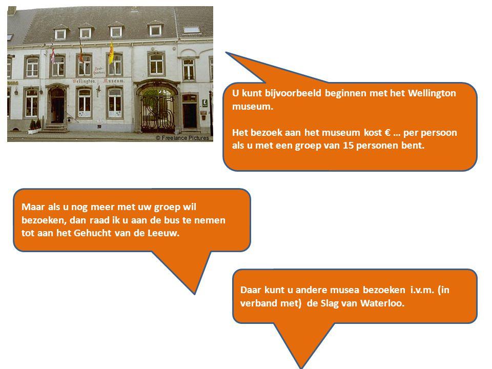 Ik noteer de gegevens van het hotel (het museum, het restaurant ….) hierop.