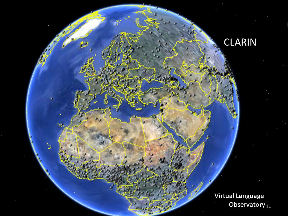 CLARIN Virtual Language Observatory 11