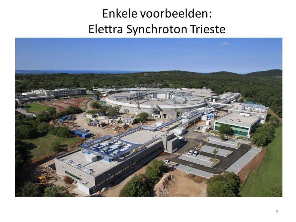 Enkele voorbeelden: Elettra Synchroton Trieste 5