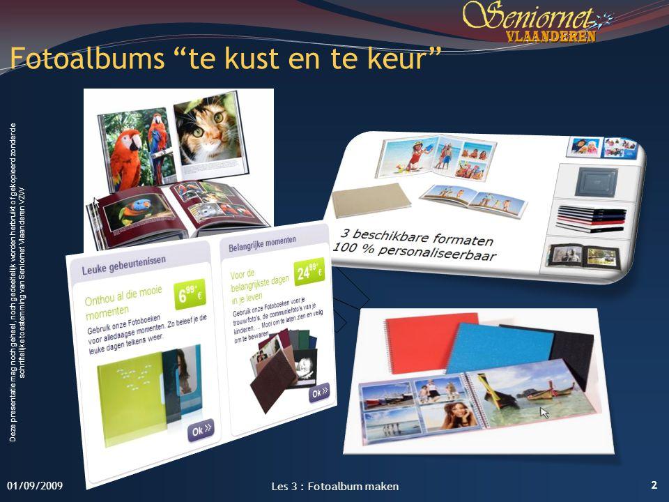 Deze presentatie mag noch geheel, noch gedeeltelijk worden herbruikt of gekopieerd zonder de schriftelijke toestemming van Seniornet Vlaanderen VZW Fo