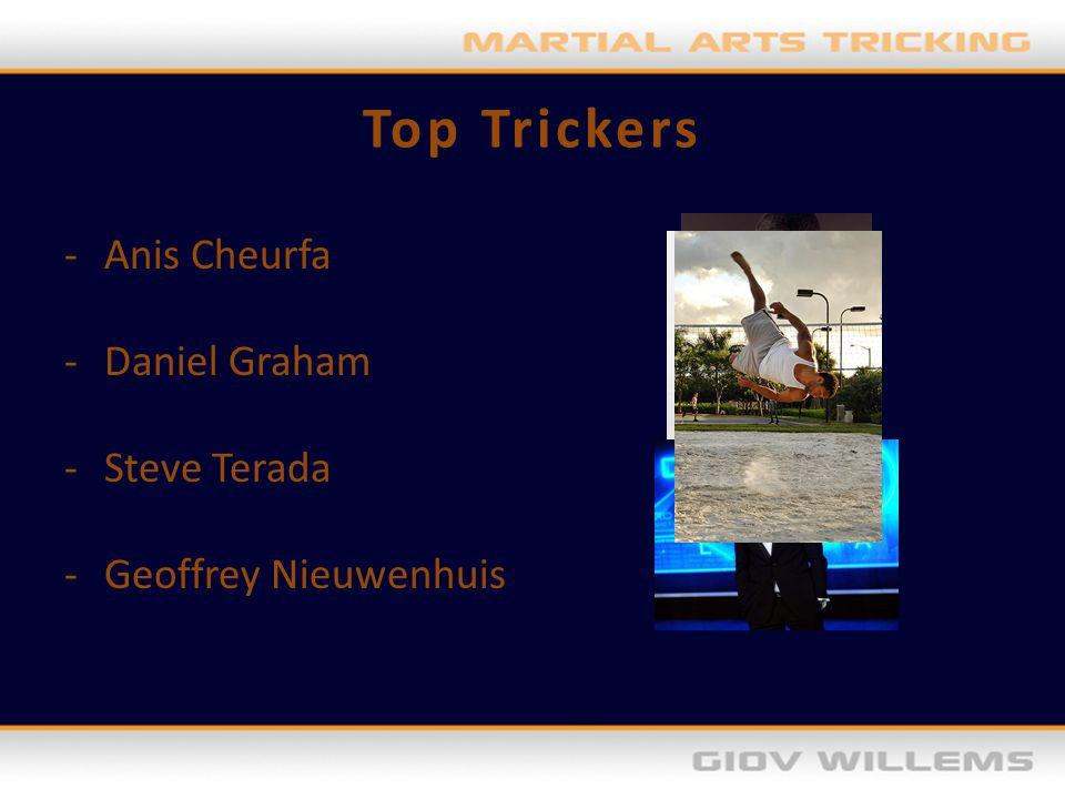 Top Trickers -Anis Cheurfa -Daniel Graham -Steve Terada -Geoffrey Nieuwenhuis