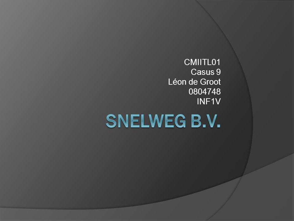 CMIITL01 Casus 9 Léon de Groot 0804748 INF1V