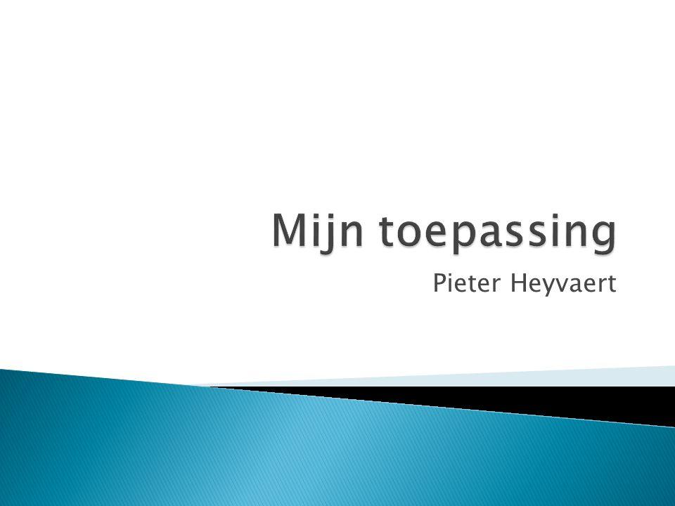 Pieter Heyvaert