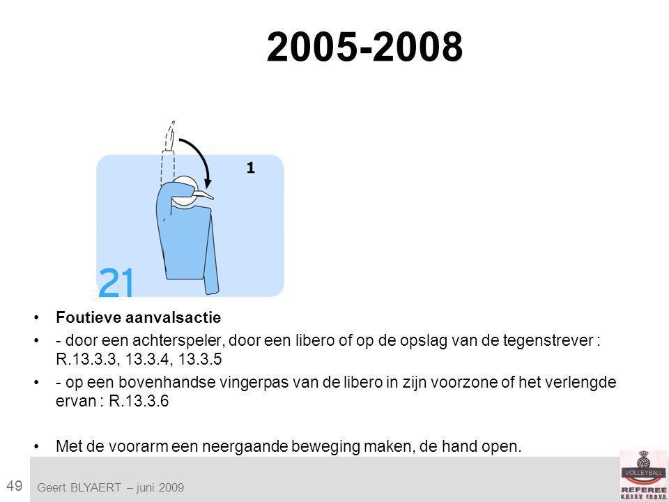 49 VVB SR commissie - reglementen 2009-2012 Geert BLYAERT | © Robert Bosch GmbH 2009.