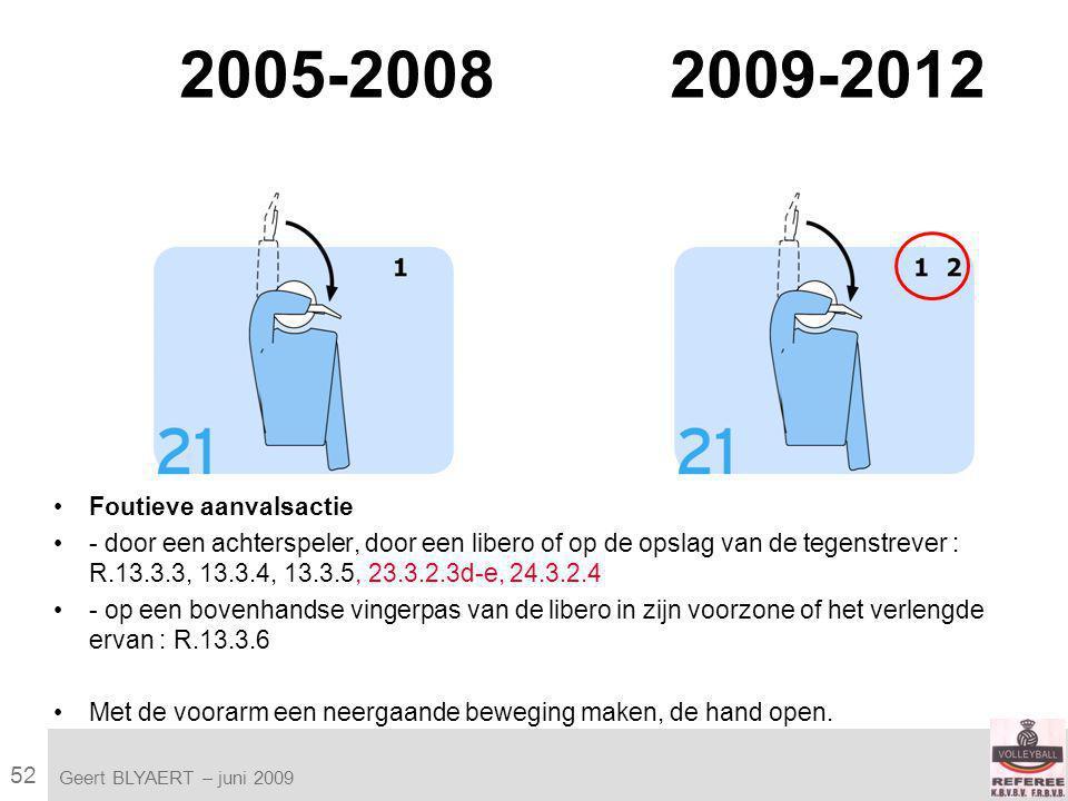 52 VVB SR commissie - reglementen 2009-2012 Geert BLYAERT | © Robert Bosch GmbH 2009.