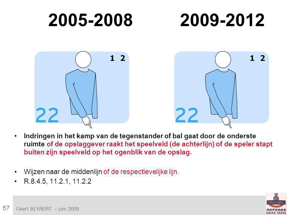 57 VVB SR commissie - reglementen 2009-2012 Geert BLYAERT | © Robert Bosch GmbH 2009.