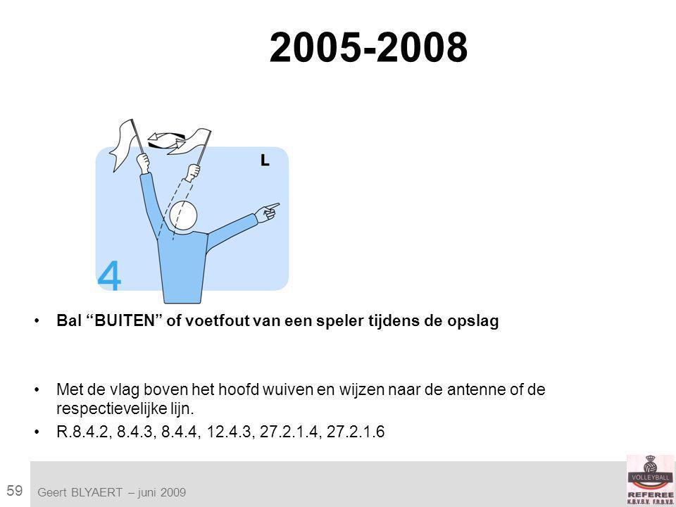 59 VVB SR commissie - reglementen 2009-2012 Geert BLYAERT | © Robert Bosch GmbH 2009.