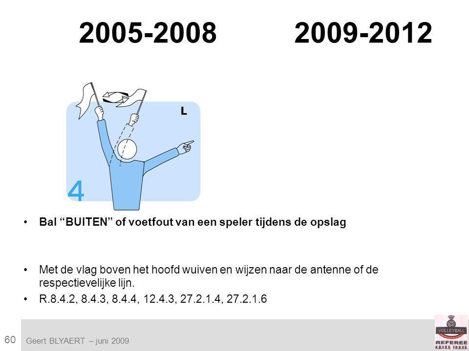 60 VVB SR commissie - reglementen 2009-2012 Geert BLYAERT | © Robert Bosch GmbH 2009.