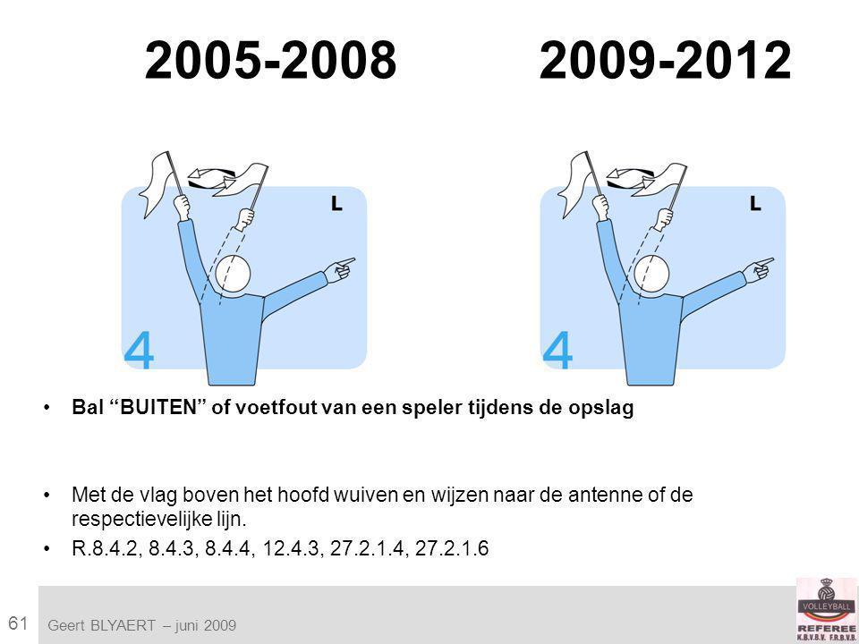 61 VVB SR commissie - reglementen 2009-2012 Geert BLYAERT | © Robert Bosch GmbH 2009.