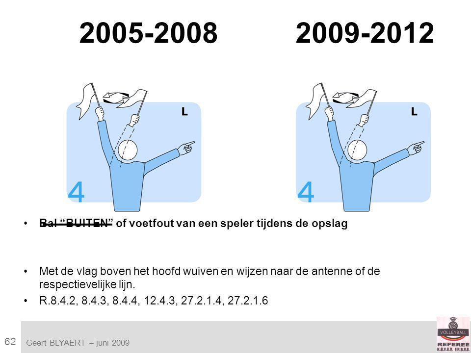 62 VVB SR commissie - reglementen 2009-2012 Geert BLYAERT | © Robert Bosch GmbH 2009.