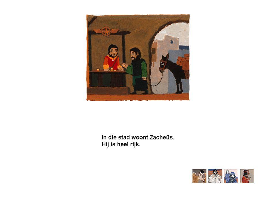 Zacheus – Jezus volgen •Lukas 19:1-10: 1 En Hij kwam Jericho binnen en ging erdoor.