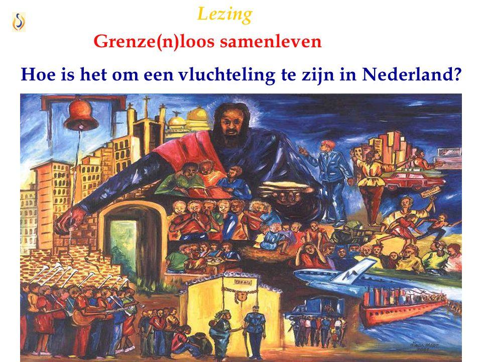 6 Hoe is het om een vluchteling te zijn in Nederland? Lezing Grenze(n)loos samenleven