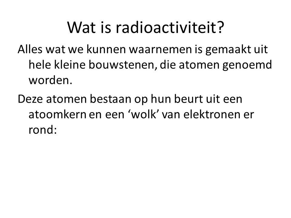 Wat is radioactiviteit?