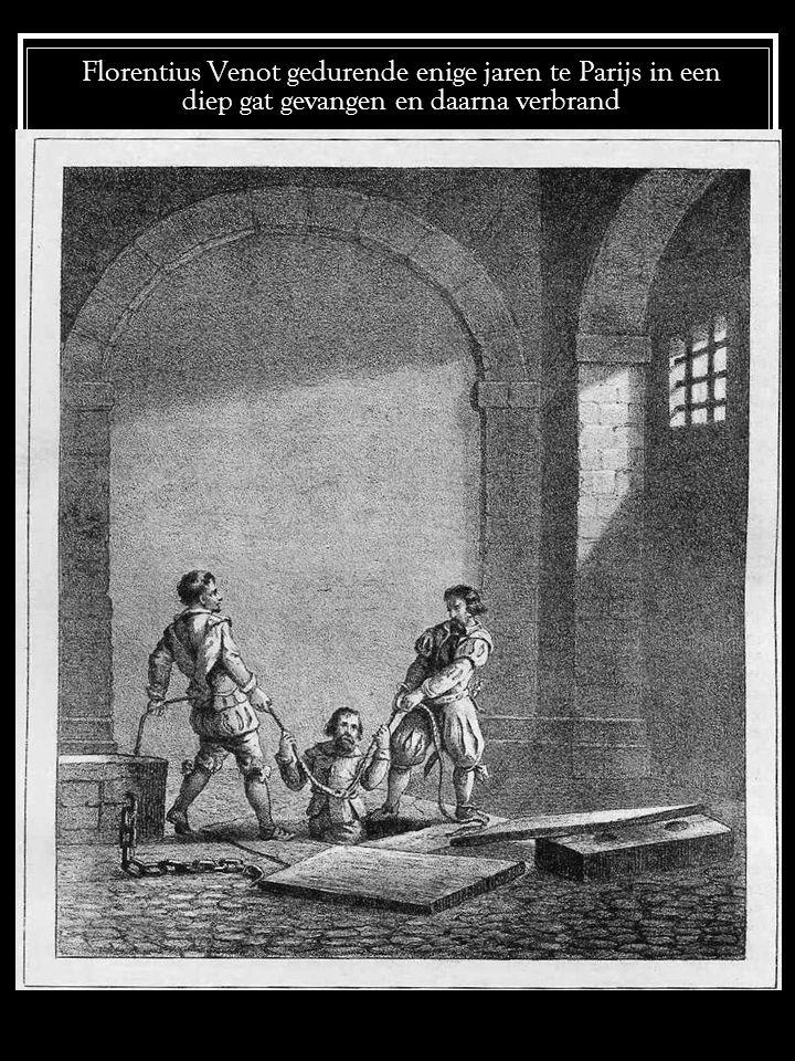 Faninus van Faenzas wekt zijn medegevangenen op tot bekering