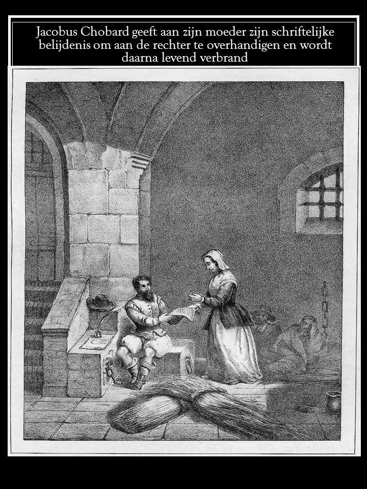 Jacob Abres in de gevangenis