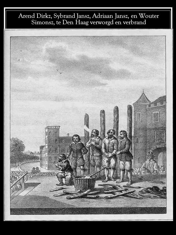 Jean Barbeville te Parijs levend verbrand
