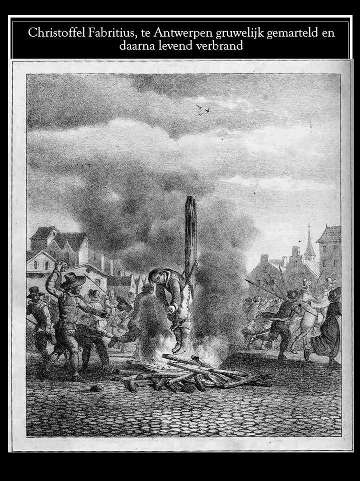 Petrus Baudet op aanhitsing van zijn oom, buiten Geneve vreselijk gemarteld