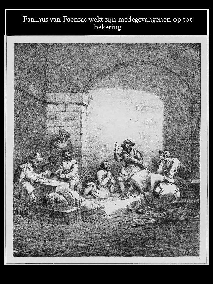 De martelingen aan de christenen te Piemont