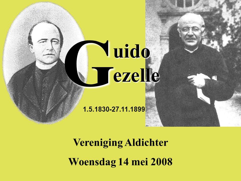 Vereniging Aldichter Woensdag 14 mei 2008 uido ezelle 1.5.1830-27.11.1899 G