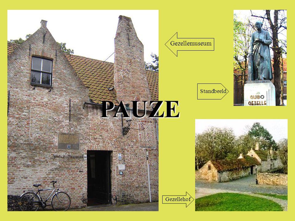 PAUZE Gezellemuseum Gezellehof Standbeeld