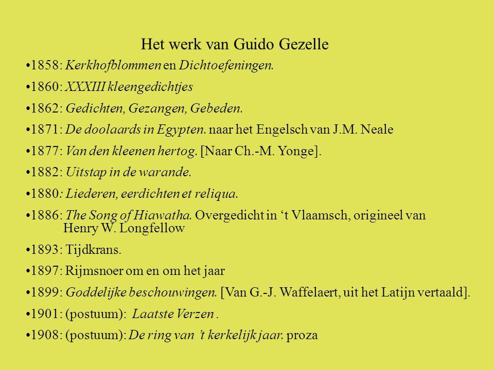 •1858: Kerkhofblommen en Dichtoefeningen.