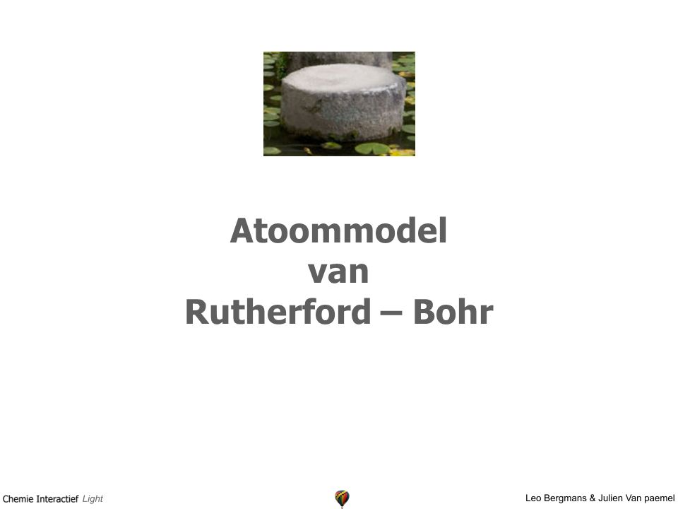 Atoommodel van Rutherford – Bohr