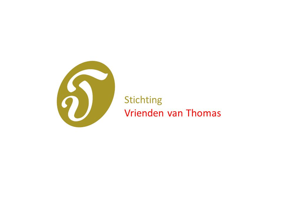In 2003 is de Stichting Vrienden van de Thomashuizen opgericht.