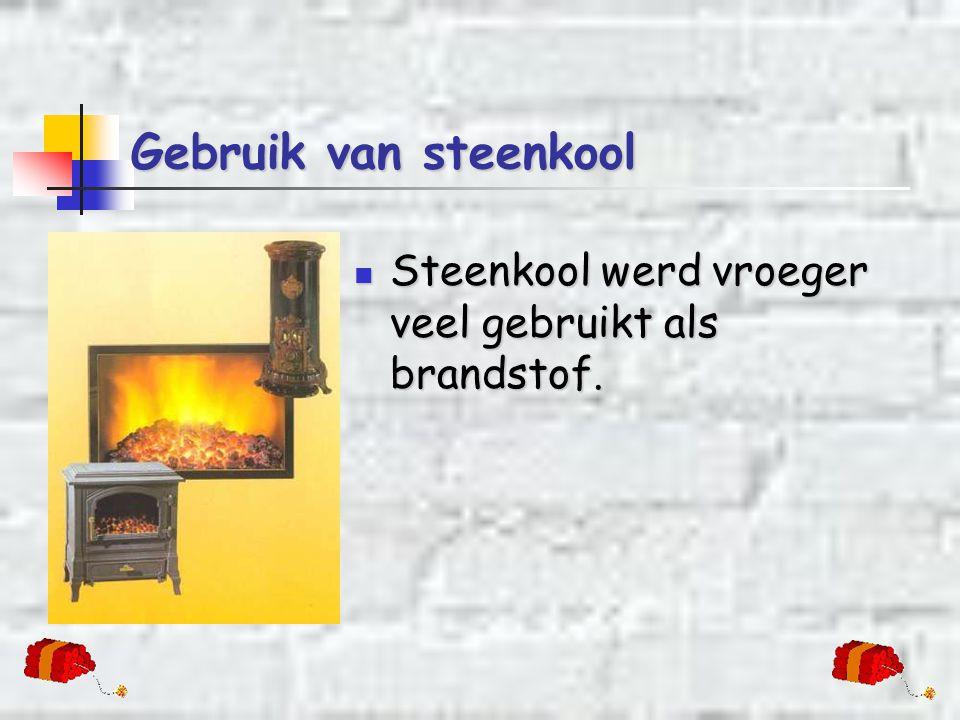 Van turf naar steenkool  Turf is ook een brandstof.  De turflagen werden in de loop van miljoenen jaren bedolven onder andere lagen en samengeperst.